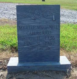 Myrtle <I>McDaniel</I> Guererro