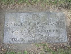 Reynold E Abrahamson