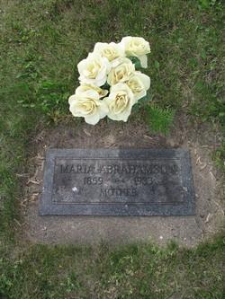 Maria C <I>Peterson</I> Abrahamson