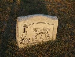 "Carl W ""Buster"" Aarons"