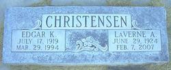 Laverne <I>Allenback</I> Christensen