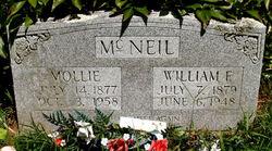 Mollie <I>Girkins</I> McNeil