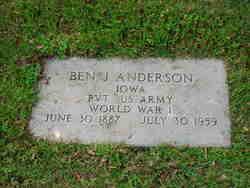 Ben J Anderson