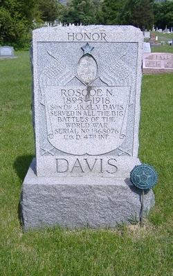 Pvt Roscoe Nye Davis