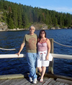 Glenn and Tracy Morrow