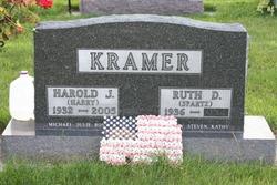 """Harold Joseph """"Harry"""" Kramer"""