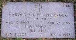 Harold E Raffensperger