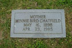 Minnie <I>Bird</I> Chatfield