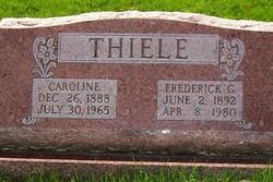 Caroline <I>Becker</I> Thiele