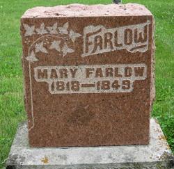 Mary <I>Martin</I> Farlow