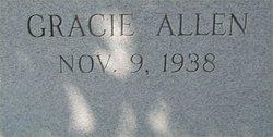 Gracie <I>Allen</I> Harkins
