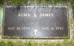 Alma Louise <I>Jones</I> James