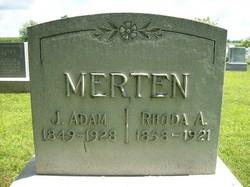 Rhoda Ann <I>Froebe</I> Merten