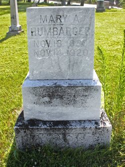 Mary Ann <I>Fisher</I> Humbarger-Krause