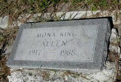 Mona <I>King</I> Allen