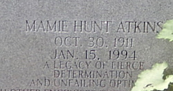 Mamie Hunt <I>Atkins</I> Withers