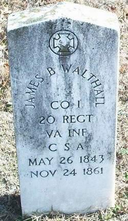 Pvt James Branch Walthall