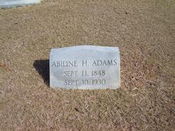 "Abilene Horace ""Horry"" Adams"