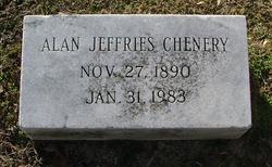 Dr Alan Jeffries Chenery