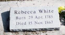 Rebecca <I>Smith</I> White