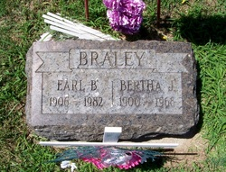 Bertha J <I>Walton</I> Braley
