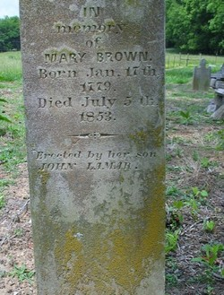 "Mary ""Polly"" <I>Butler</I> Brown"