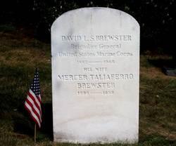 BG David Lukens Shoemaker Brewster