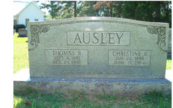 "Christine Jane ""Crissy"" <I>Rogers</I> Ausley"