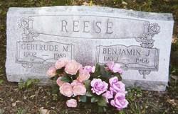 """Benjamin Joseph """"Ben"""" Reese"""