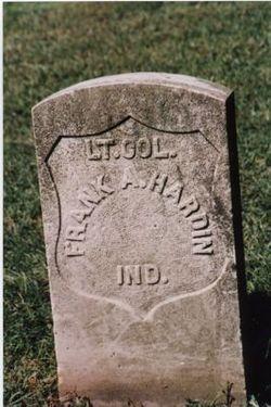 Lt Col Frank A Hardin