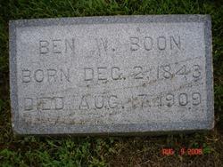 """Benjamin Watts """"Ben"""" Boone"""