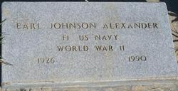 Earl Johnson Alexander