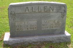 "Martha Matilda ""Mattie"" <I>Luce</I> Allen"