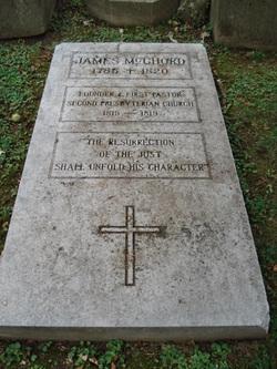 Rev James McChord