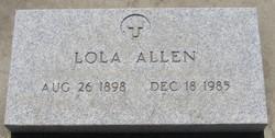 Lola <I>Langston</I> Allen