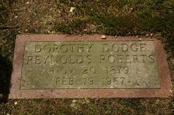 Dorothy Dodge <I>Reynolds</I> Roberts