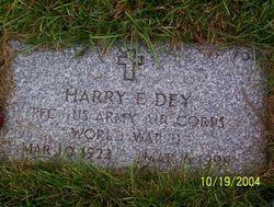 Harry Earl Dey