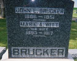 John Logan Brucker