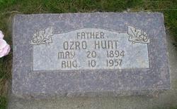 "Ozro Elmer ""Oz"" Hunt"