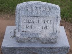 Eliza Jane <I>Hall</I> Rodd