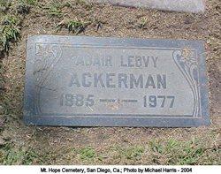 "Eliza Adair ""Adair"" <I>Leovy</I> Ackerman"