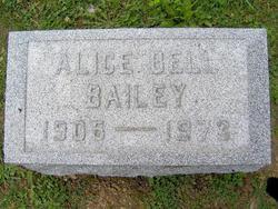 Alice <I>Bell</I> Bailey