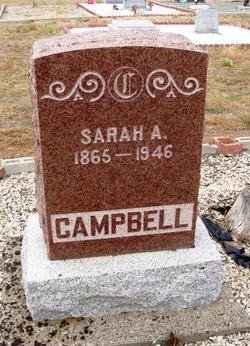 Sarah Alice <I>Rodman</I> Campbell