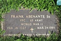 Frank Abenante, Sr