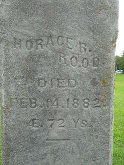Horace R Rood
