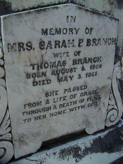 Sarah Pride <I>Read</I> Branch