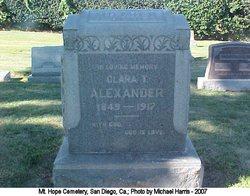 Clara T Alexander
