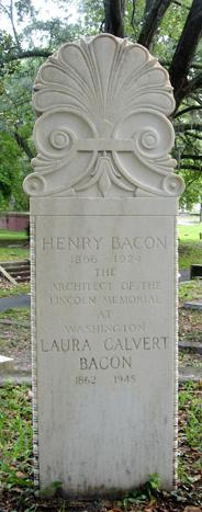 Laura <I>Calvert</I> Bacon