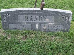 """Ruth Iona """"Iona"""" <I>Lawson</I> Brady"""
