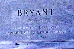 Capt Ralph Sherwood Bryant